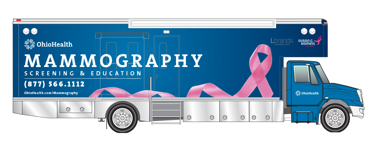 mammogram van logo